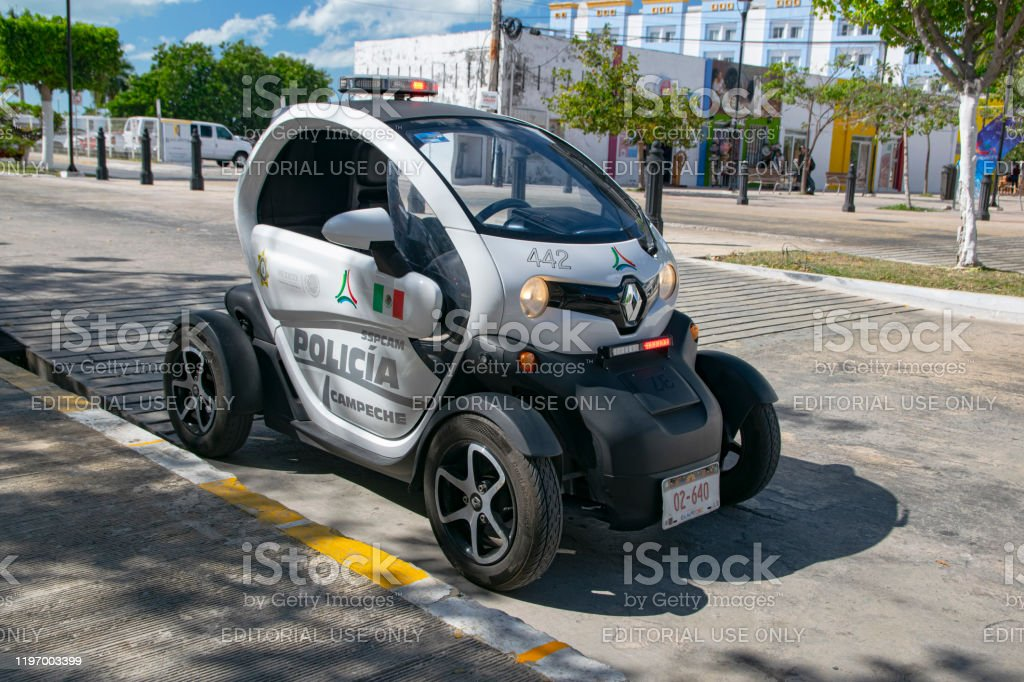 Renault Twizy Police Car On A Street Stock Photo Download Image Now Istock