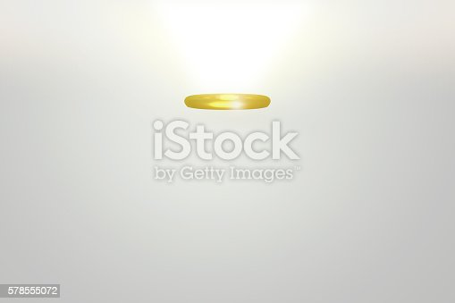 🔥 Gold Wings And Red Heart 3D Illustration