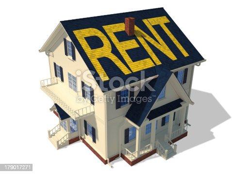 902034612 istock photo Render home exterior(Rent) 179017271