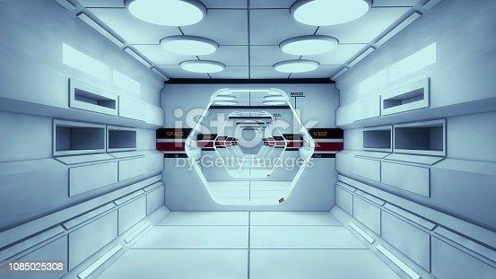830306120 istock photo 3D render Interior and futuristic architecture design 1085025308