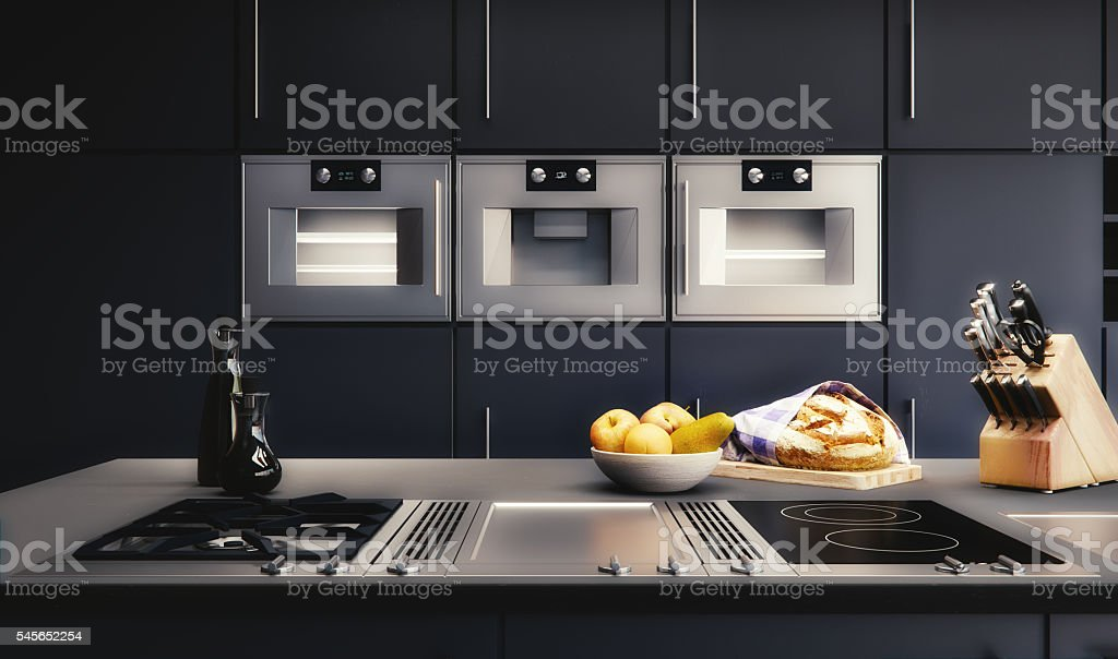 3D render - Modern Kitchen – Foto