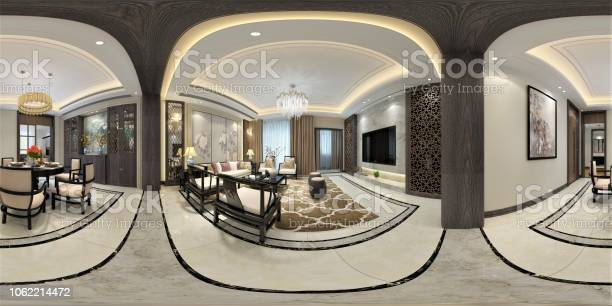 Render of 360 degrees living room picture id1062214472?b=1&k=6&m=1062214472&s=612x612&h=aigqfw1d9yxeaydsotm3hfy7g4r5zwh 2ytupc4v0xc=