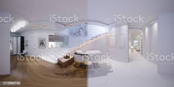 Render seamless panorama of staircase hall picture id1213594740?b=1&k=6&m=1213594740&s=612x612&h=ajzjo vys02x4qw62emfcryq6qvkonlvw2kqb jtvfc=