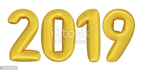 istock 3D Render Text Gold Colored 1084862550