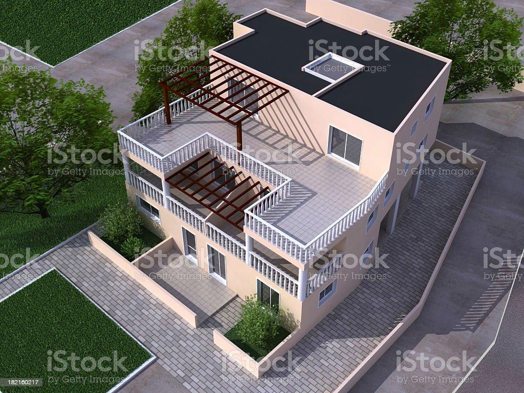 Aus house - Lizenzfrei Architektur Stock-Foto