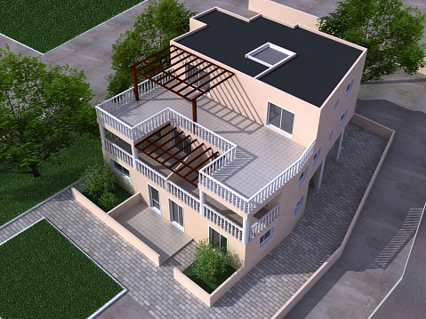 Aus House Stockfoto und mehr Bilder von Architektur
