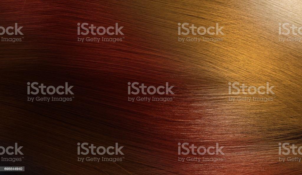 3d Gerendert Abbildung Der Bunten Weibliche Haare Mit Farbverlauf