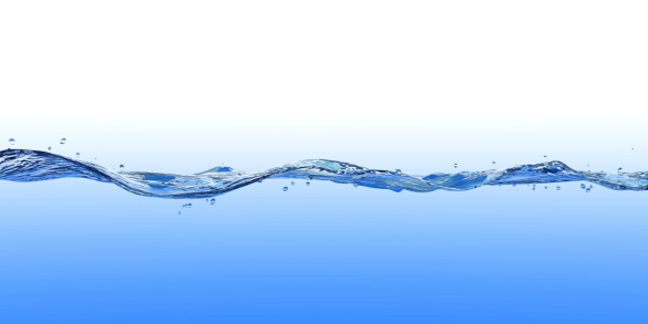 3d Rendered Wave On Blue And White Stock Photo - Download Image Now