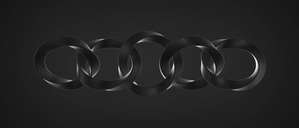Rendering abstract dark background black rings chain of curved picture id1215695517?b=1&k=6&m=1215695517&s=612x612&w=0&h=w79kxe3a3ih3diacskoe uqy8wsxnetaugbnzqce02q=