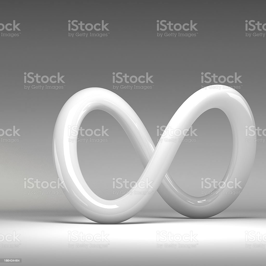 3D rendering abstract knot royalty-free stock photo