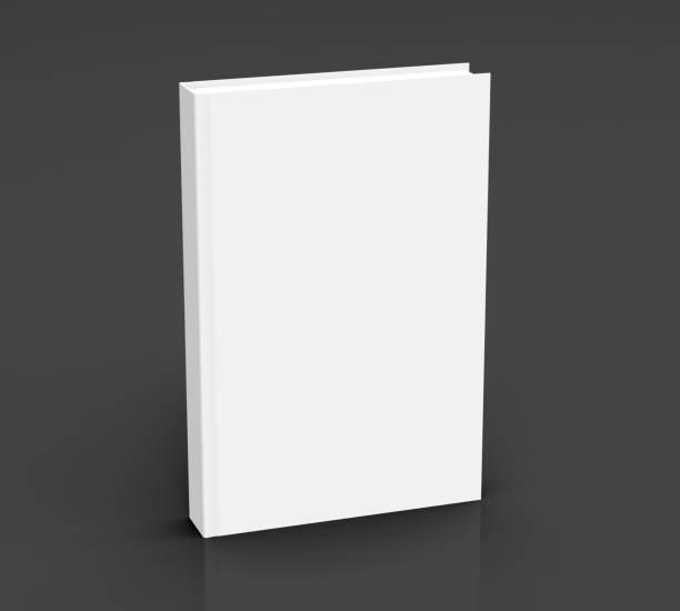 Maquete do livro de renderização em 3D - foto de acervo