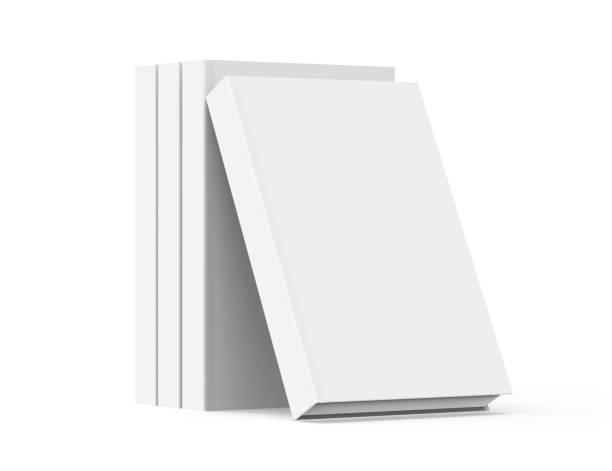 Maquete de livros de renderização em 3D - foto de acervo