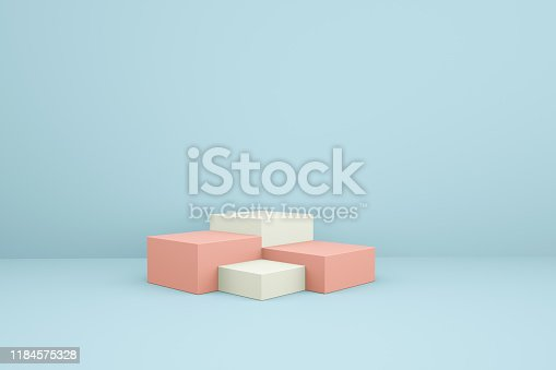 1049530612istockphoto 3D rendering color geometric background, can be used for posters, commercial activities and other background 1184575328