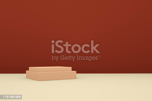 1049530612 istock photo 3D rendering color geometric background, can be used for posters, commercial activities and other background 1191991955