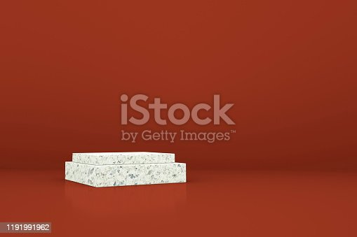1049530612 istock photo 3D rendering color geometric background, can be used for posters, commercial activities and other background 1191991962