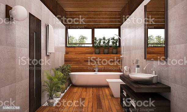 Rendering contemporary wood bathroom with plants picture id538653268?b=1&k=6&m=538653268&s=612x612&h=mys82fuzzy44kzhoi4sais1ifuikscmlk01x7dohlyy=