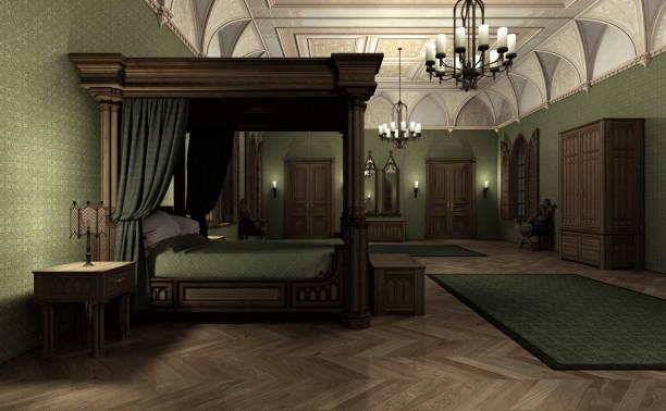 Mittelalterliche Schlafzimmer Bilder Und Stockfotos Istock