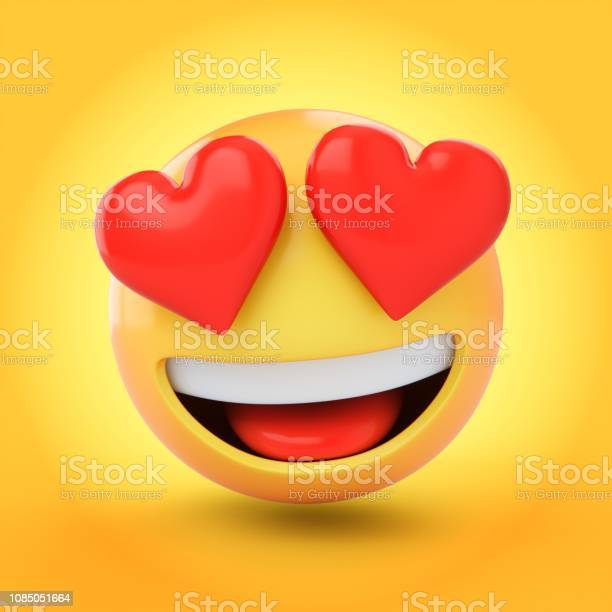 Rendering falling in love emoji isolated on yellow background picture id1085051664?b=1&k=6&m=1085051664&s=612x612&h=kogmkgnvujat rfc6qnfl6 nypj7vkcg1rh77u7tzlm=