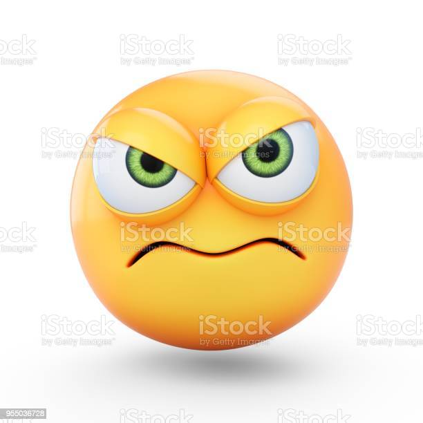 Rendering grumpy emoji isolated on white background picture id955036728?b=1&k=6&m=955036728&s=612x612&h=jsbd12y8t9e7bx5m4ub t4fv1nwkzfowku5mwocjlv0=