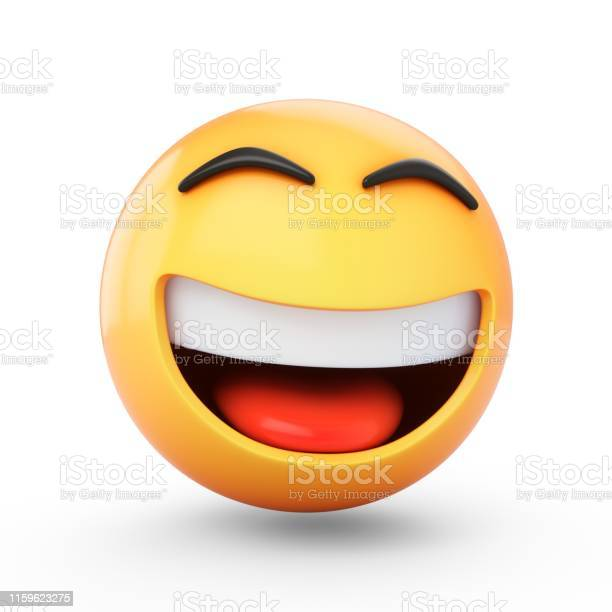 Rendering happy emoji isolated on white background picture id1159623275?b=1&k=6&m=1159623275&s=612x612&h=owcphecdqxh1ggw3si7ffmophydapym7yzhppclcxsq=