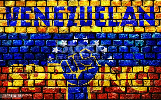 istock 3D rendering idea for the Venezuelan Spring. 1127416153