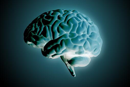 692684668 istock photo 3D rendering illustration negative brain glowing on dark BG 1220187261