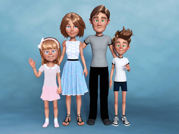 Rendering of a cartoon family portrait picture id1133387141?b=1&k=6&m=1133387141&s=612x612&w=0&h= cs oarmfubrw0ucai4y37je7pcv1ur05xrgun2ew1g=