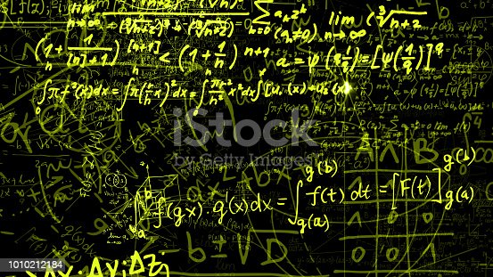 491375966 istock photo 3D rendering of abstract blocks of mathematical formulas located in the virtual space 1010212184