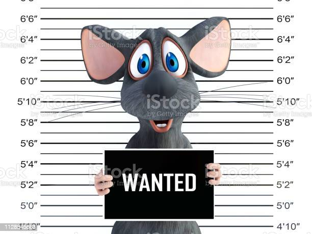 Rendering of an smiling cartoon mouse in a mugshot picture id1128845863?b=1&k=6&m=1128845863&s=612x612&h=biol3liidn57g8o sx6osglwppkdaso umregwbkbq4=