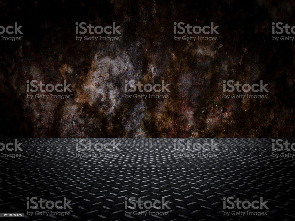3D rendering of Wall Background photo libre de droits
