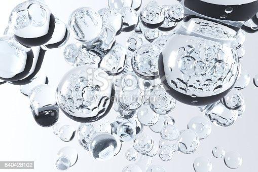 155146839istockphoto 3D Rendering Of Water Bubbles 840428102
