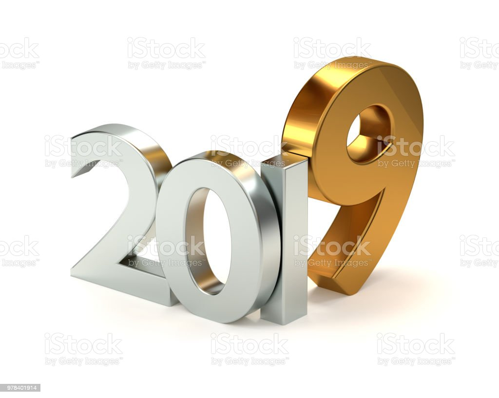 2019 3D Rendering stock photo