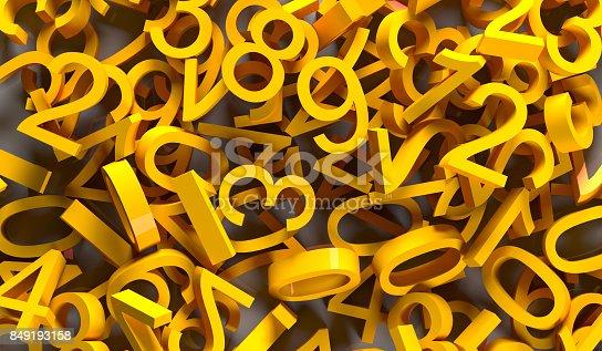 1046643326 istock photo 3D Rendering Pile Of Numbers 849193158