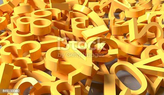 1046643326 istock photo 3D Rendering Pile Of Numbers 849193360