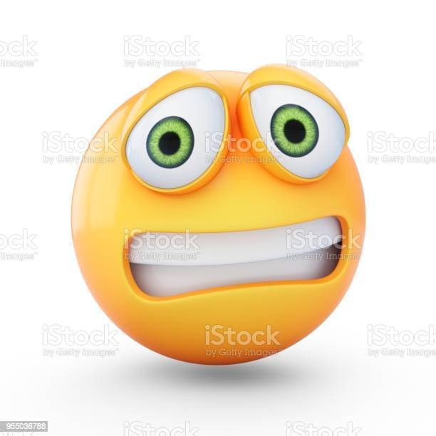 Rendering scared emoji isolated on white background picture id955036788?b=1&k=6&m=955036788&s=612x612&h=ap6igwburfmo1gzy2x6k5i t8c10ufuewodei0mthym=