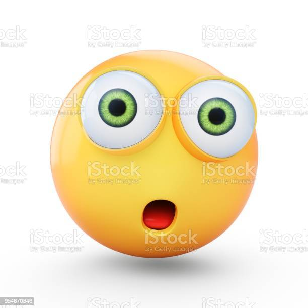 Rendering surprised emoji isolated on white background picture id954670346?b=1&k=6&m=954670346&s=612x612&h=h3pwbixbyryxy7aiyes9zeoaop21bwh4uyp4ov0zews=