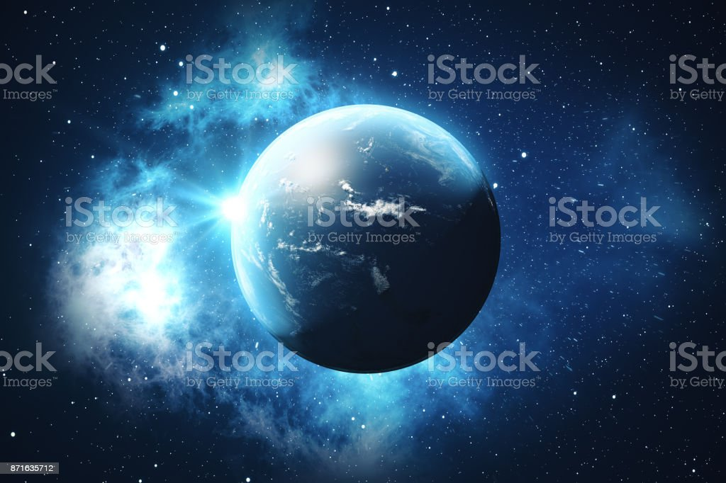 3d rendering world globe earth globe with backdrop stars and nebula 3d rendering world globe earth globe with backdrop stars and nebula earth galaxy gumiabroncs Image collections
