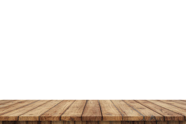 3D rendering,wooden top table on isolated white blackgroud 3D rendering,wooden top table on isolated white blackgroud table stock pictures, royalty-free photos & images