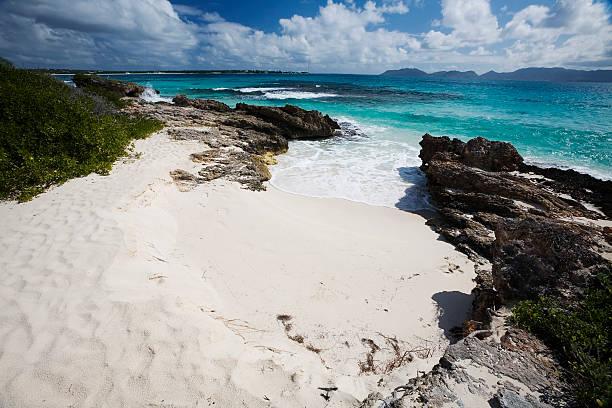 Rendezvous Bay, Anguilla stock photo