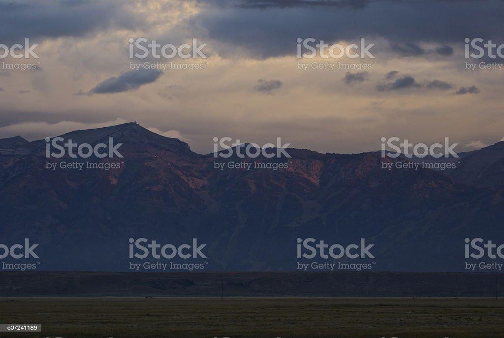 Rendezvous Peak stock photo