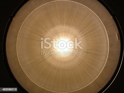 istock 2D Rendition of an Overhead Lamp 483586315