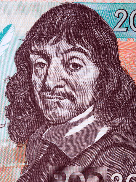 Rene Descartes ein Porträt – Foto