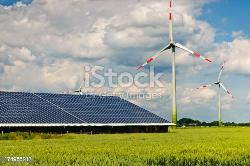 Renewable and alternative Energies - wind power,  solar and renewable resources.