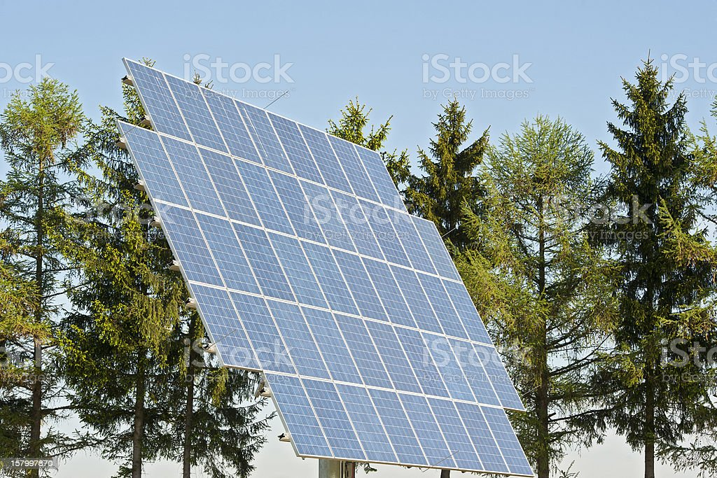 renewable and green engery stock photo