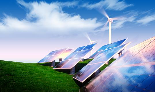 istock Renewable energy concept 497834862