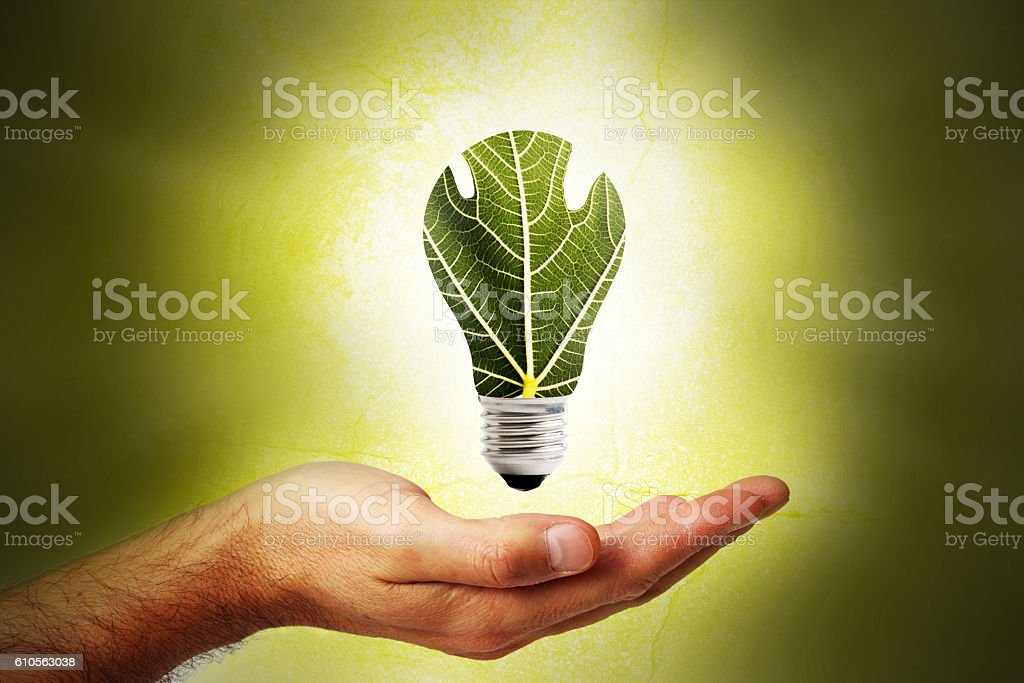 Concepto de energía renovable  - foto de stock
