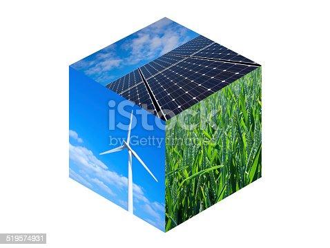 480763537 istock photo Renewable Energy Cube 519574931