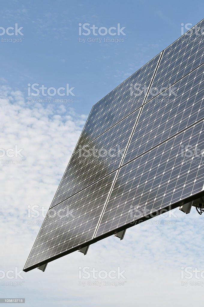 Renewable Energy - Photovoltaic Solar Panel Array royalty-free stock photo