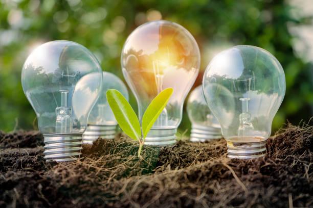 Energías Renovables. - foto de stock
