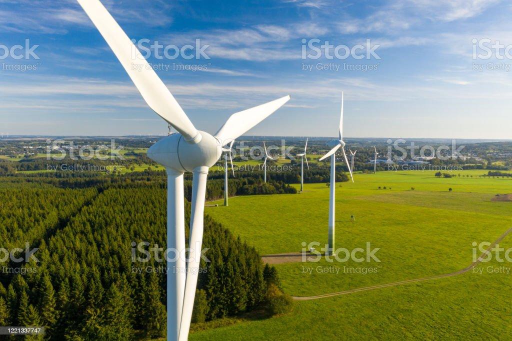 Erneuerbare Energien - Lizenzfrei Deutschland Stock-Foto